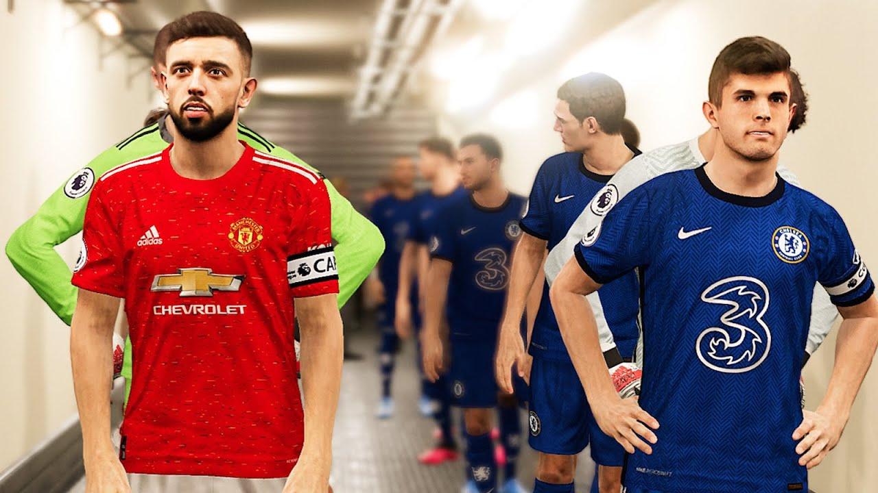 Manchester United Vs Chelsea Kits 2020 21 81 Pes 2020 Ml Youtube
