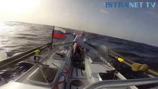 Истринский житель переплыл Атлантический океан на гребной лодке