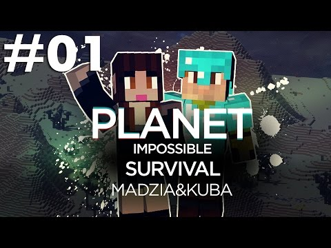 Planet Impossible Survival Minecraft /w Kuba #01