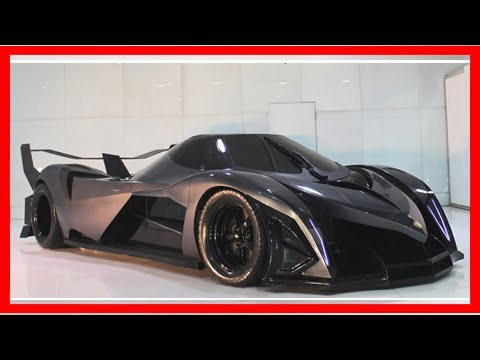 We will finally get to see 300-mph, 5000 hp devel 16 years at dubai motor show by news today