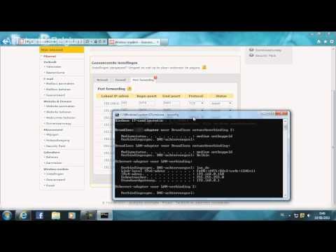 How To Portforward A Telenet Router/Modem