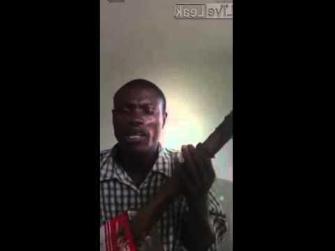 Blind street musician Weesay the freespirited Liberian