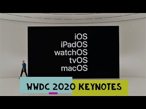 WWDC Special Event Keynote — June 22, 2020 – Apple – IOS 14 HIGHLIGHTS IN  18 MINS !!