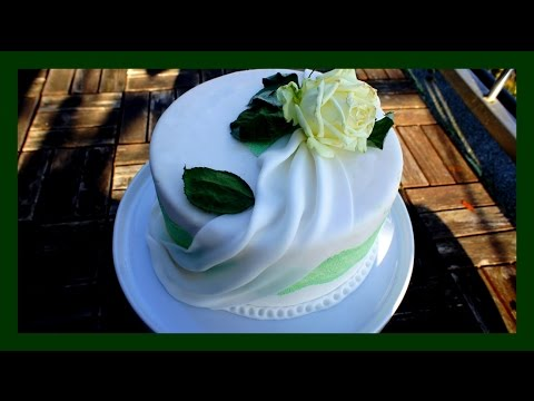 Fondant Drapierung Fondant Swags Auf Motiv Hochzeitstorten