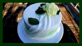 Fondant Drapierung - Fondant Swags - auf Motiv- & Hochzeitstorten - von Kuchenfee