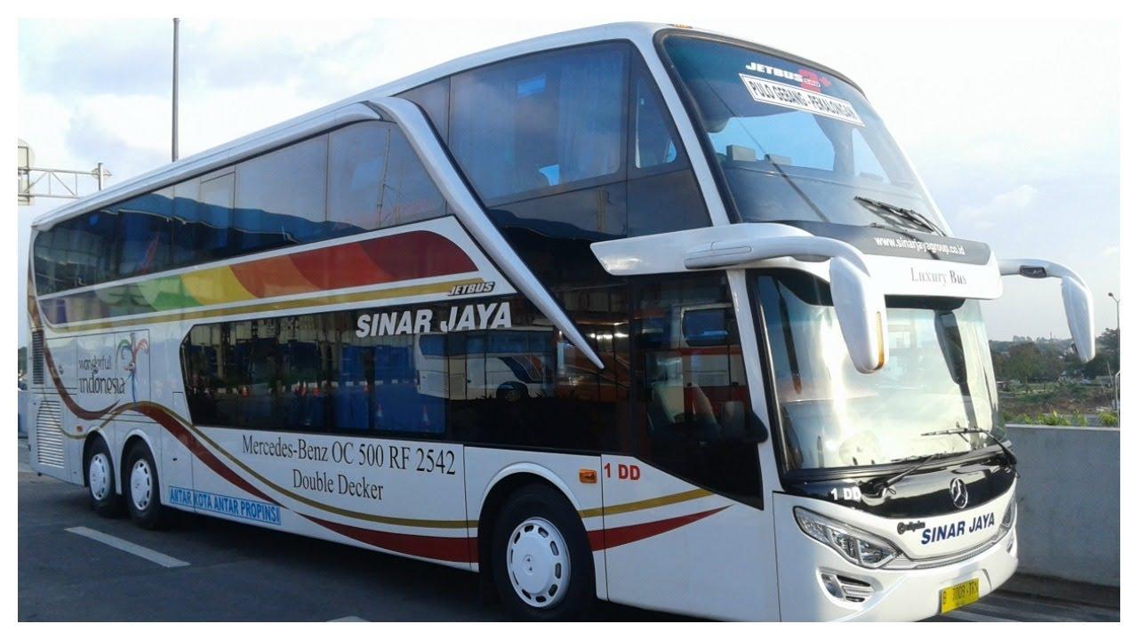 Exclusive Sinar Jaya Double Decker Perdana Beroprasi