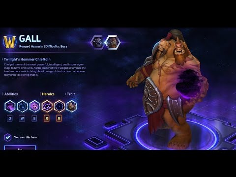 Heroes of the Storm - Cho'gall (Gall) Guide