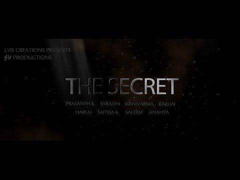 """THE SECRET""  A Telugu Short Film Trailer 2015 By Prasanth"