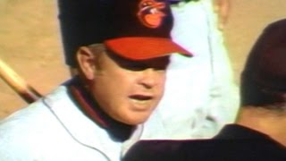 10/15/69: Orioles manager Earl Weaver becomes the first manager sin...