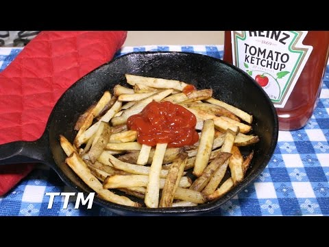 How to Make Oven Fries~Homemade Oven Baked French Fries