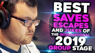 BEST Saves, Escapes & Jukes of TI9 Group Stage - Dota 2