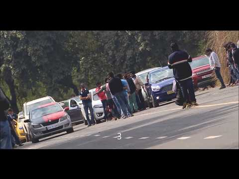 Delhi Modified Cars / Drag Race / LOUD Custom Exhaust / High Performance Cars