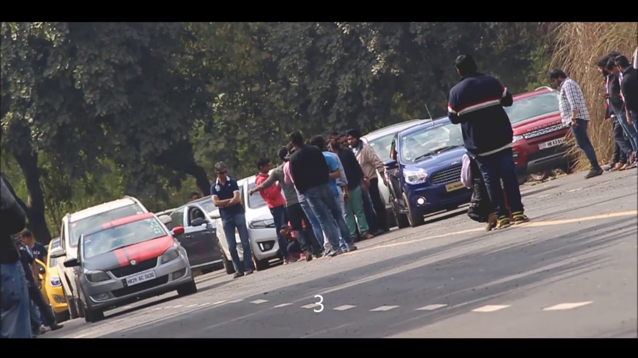 Delhi Modified Cars / Drag Race / LOUD Custom Exhaust / High ...