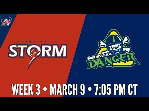 Week 3 | Sioux Falls Storm at Nebraska Danger