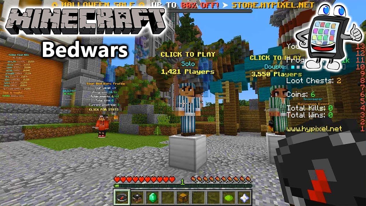 MINECRAFT Bedwars Deutsch WIR VERTEIDIGEN UNSER HEILIGES BETT - Minecraft bedwars jetzt spielen