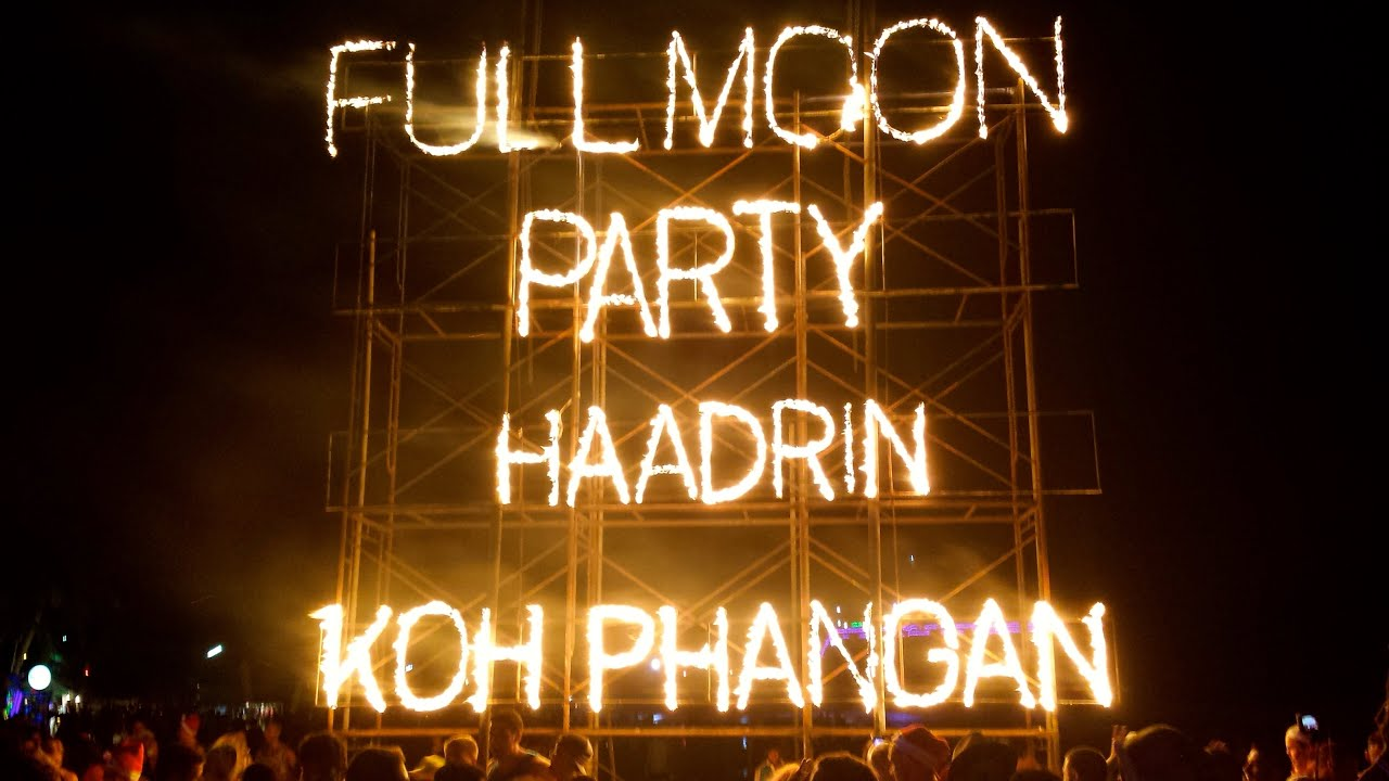 Image result for Full moon party at Koh Phangan