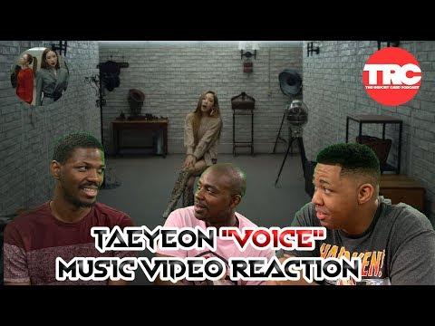 """Taeyeon """"Voice"""" Music Video Reaction"""