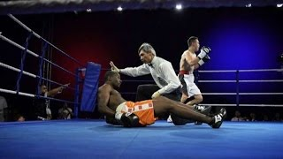 Charles Manyuchi Knocked Out by Qudratillo Abduqaxorov!