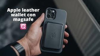Imagen del video: Cartera Apple Leather Wallet