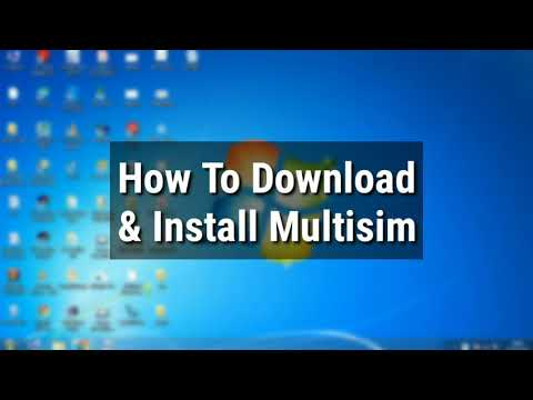 Multisim #1: How To Download And Install Multisim