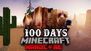 I Survived 100 Days in the Minecraft Wild West... Here's What Happened