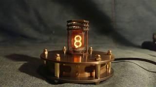 Одноламповые часы на индикаторе ZM1000 / Single Tube Nixie Clock with ZM1000 Tube