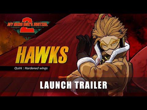 MY HERO ONE'S JUSTICE 2 – Hawks Launch Trailer