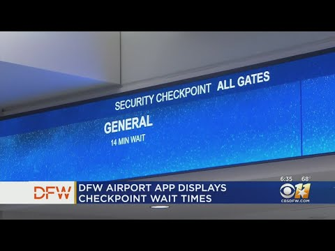 Jeff K - Catching A Flight At DFW? App Now Shows Security Wait Times