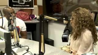 Lil Kim at the Breakfast Club - Power 105.1 (NICKI & AZEALIA BEEF) Part 2