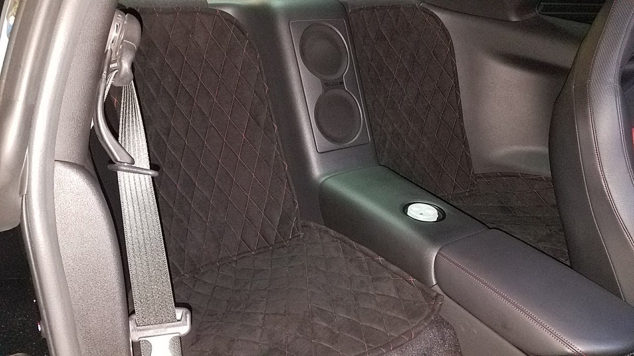 Gtr Nismo Gets Rear Seat Delete A D Auto Upholstering Gas Tank