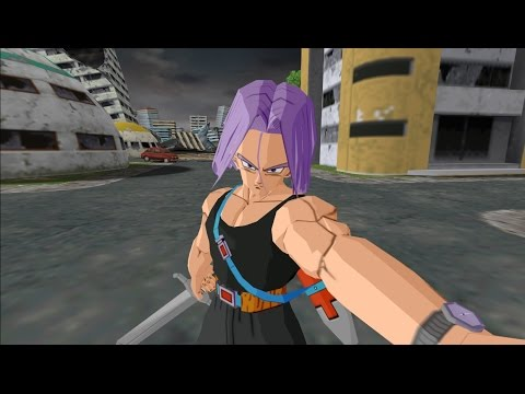 Budokai 3 trunks cheveux long