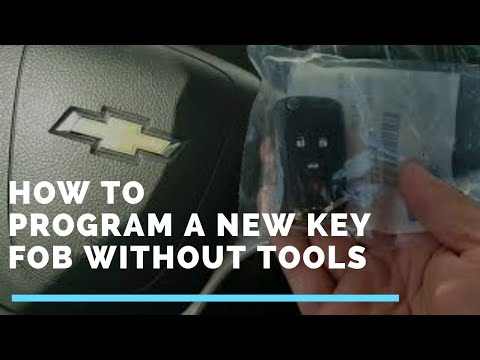 Save Money And DIY - How To Program A Key Fob For A 2011 To 2014 Chevrolet Cruze For ABSOLUTELY FREE