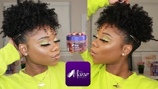 Now This Is DEFINITION Definition ! | TWISTOUT On Short 4B/C Natural Hair | The Mane Choice