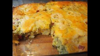 Заливной пирог с капустой Супер вкусный нежный и сочный пирог
