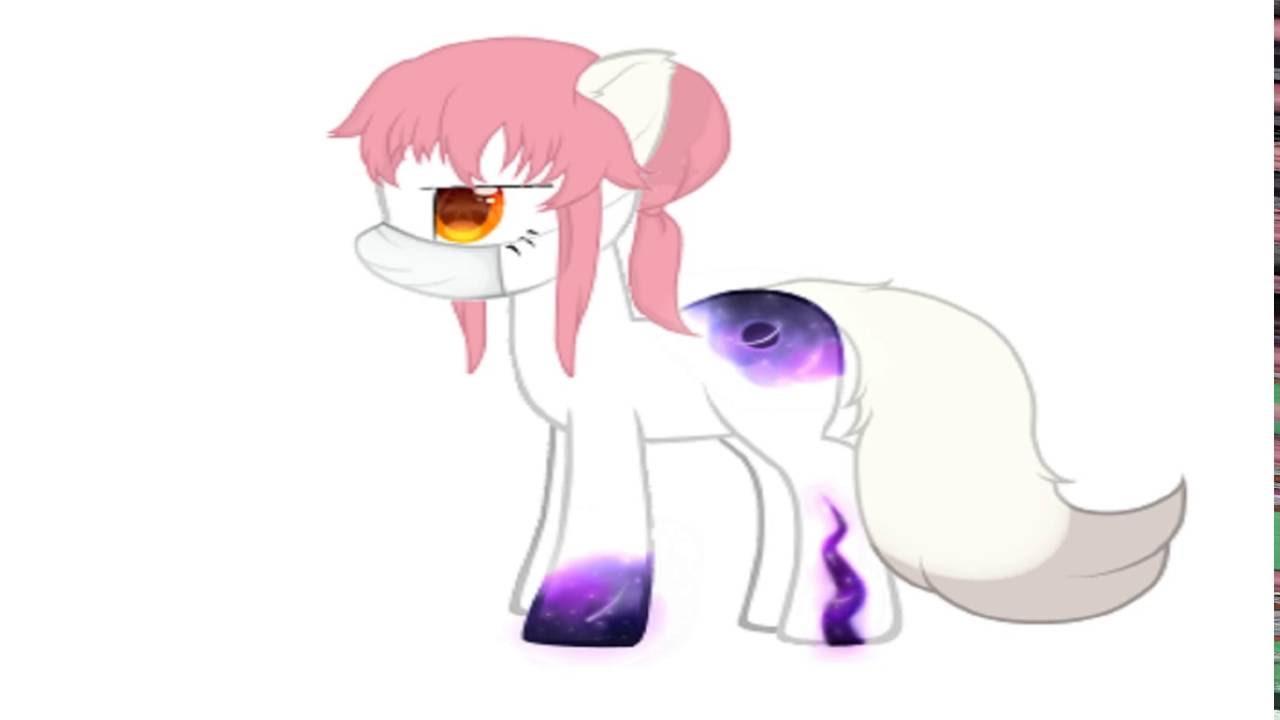 Картинки причёски для пони креатор