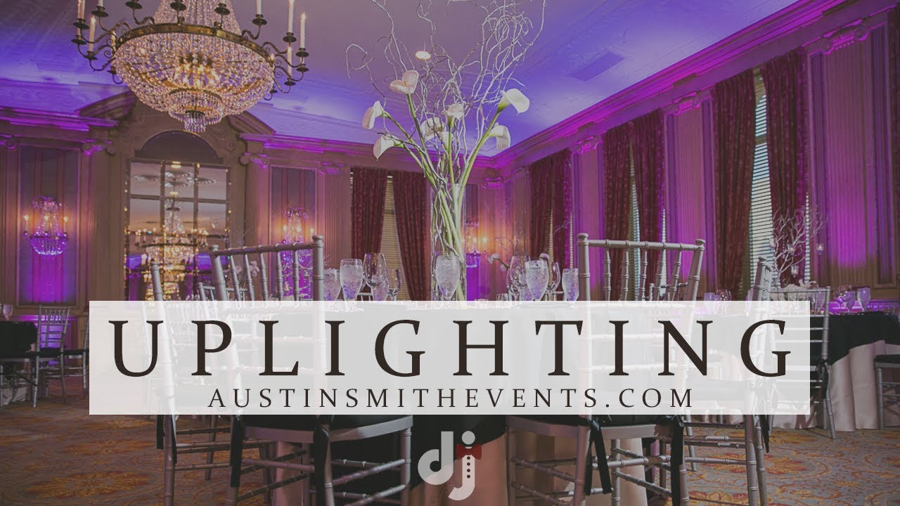 Uplighting Wedding Dj Tips
