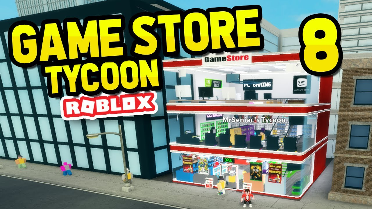 Buying The Third Floor Level 5 Roblox Game Store Tycoon 8 Youtube