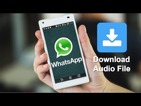 How to save Audio file from Whatsapp very easy