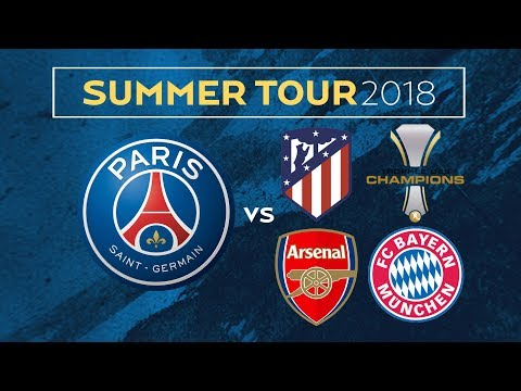 Paris Saint-Germain announce their Summer Tour in Asia
