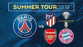 Paris saint-germain announce their summer tour in asia