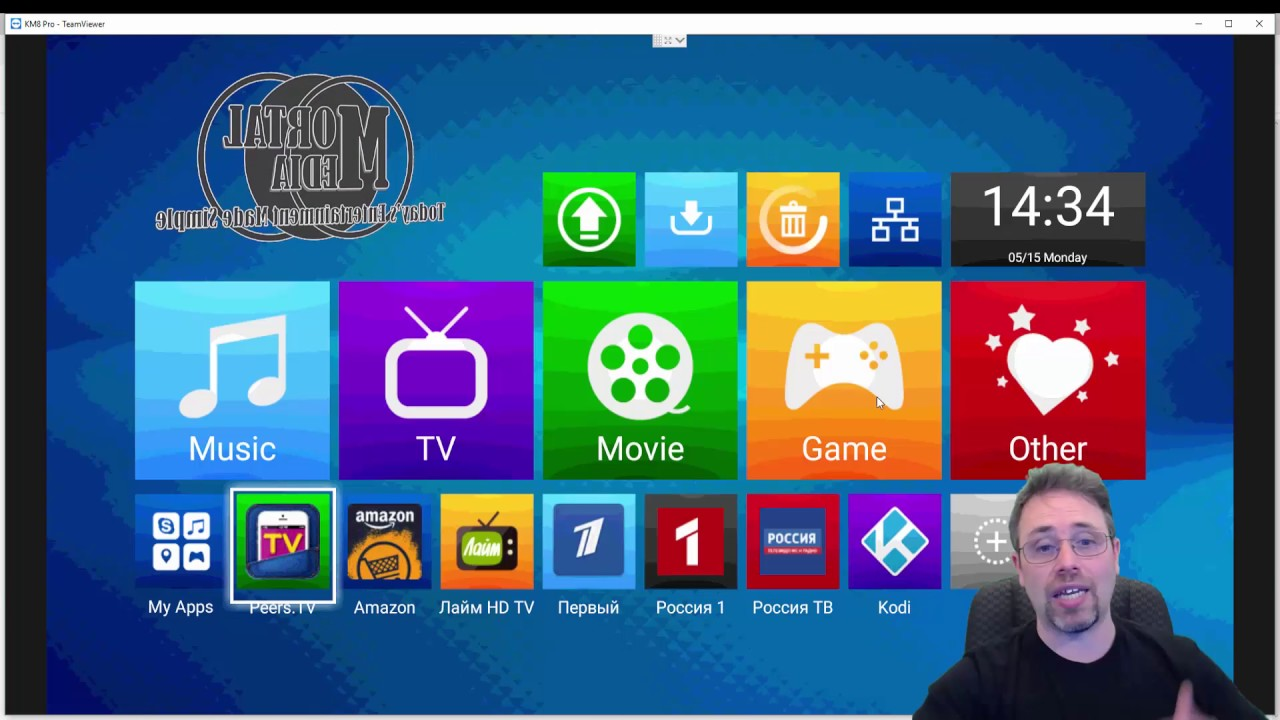Android TV Launcher Mele Launcher