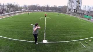 Baseball Almaty 29.11.15 (slowmo)