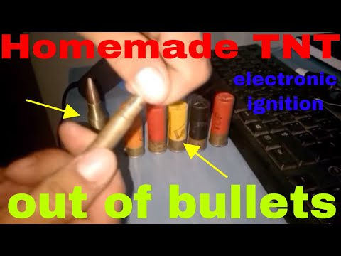 Homemade TNT with electronic ignition DIY
