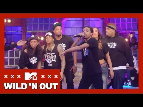 Skylar Diggins Twerks to Vic Mensa's 'Balls' Rap | Wild 'N Out: Greatest Hits | MTV
