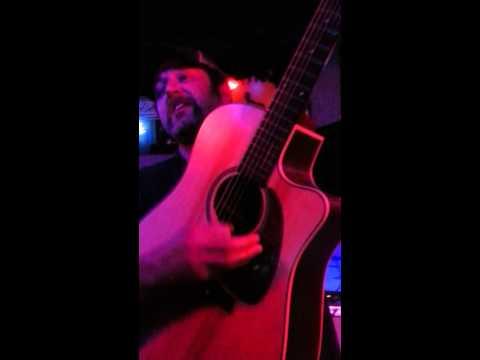 Scott H Biram playin Luke's guitar!!!