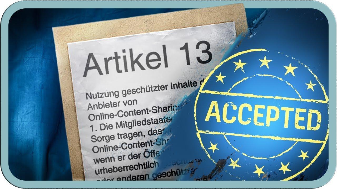 was passiert bei artikel 13