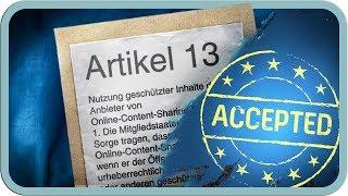 Artikel 13 kommt definitiv! Alle Infos.