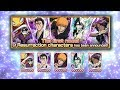 The Introduction To Resurrection Characters! [Bleach Brave Souls]