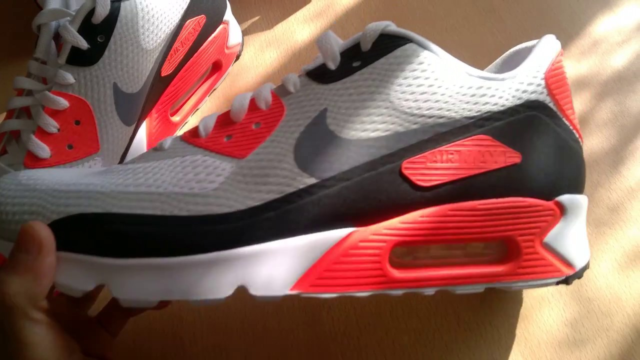 detailed look 51ccd dd402 Unboxing butów  shoes Nike Air Max 90 Ultra Essential 819474-106