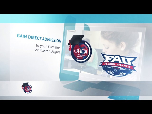 OHLA Signs with Florida Atlantic University